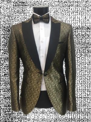 Zlatý pánsky oblek Baggi Augusto