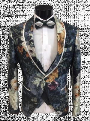 Kvetovaný pánsky oblek Baggi Alan 1