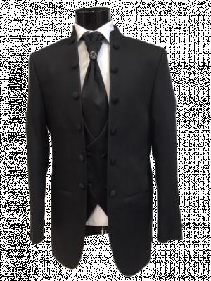 Čierny pánsky oblek Baggi Amori