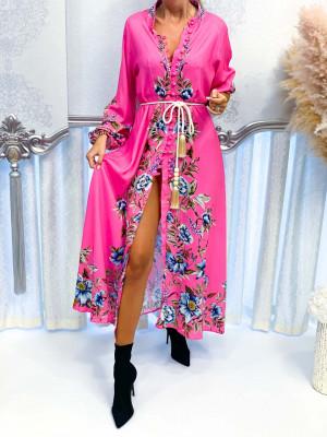 Šaty VALENCIA ružové