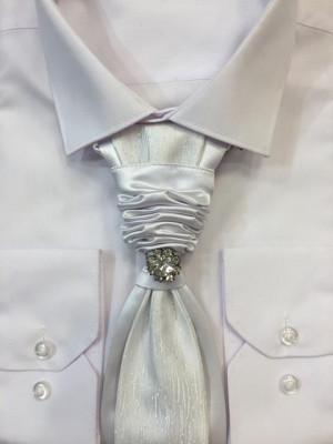 Francúzka kravata White