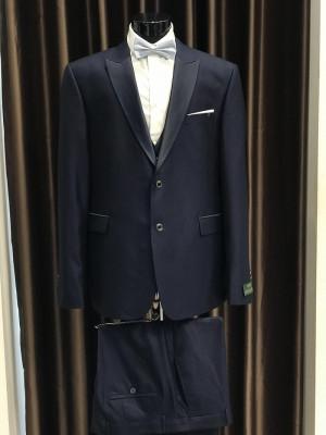 Tmavo-modrý pánsky oblek Fabio Bossi MODEL 3698 AD 285 COLOR 4