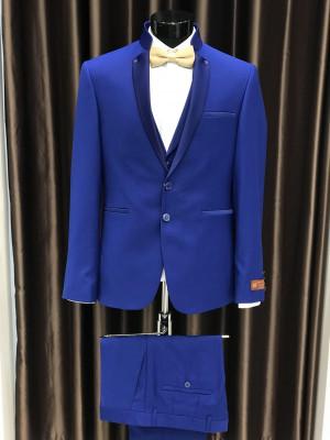 Svetlo-modrý pánsky oblek Marco Menti MODEL 3218-1 AD 350 COLOR 6
