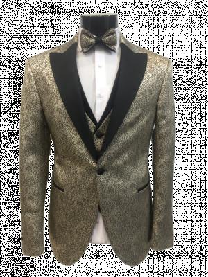 Zlatý pánsky oblek Baggi Logio