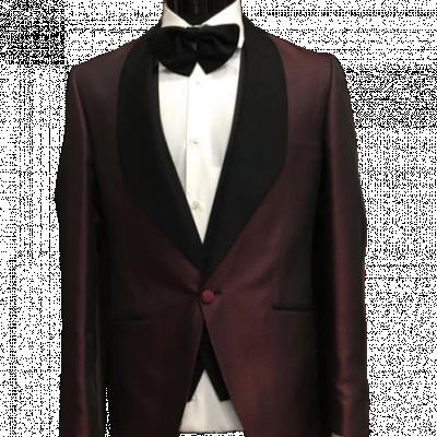 Bordový pánsky oblek Liam