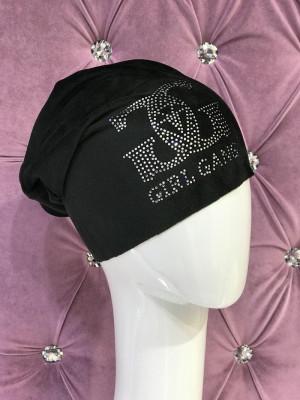 Dámska čiapka GG čierna