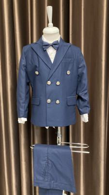 Detský modrý oblek Brumik 7226