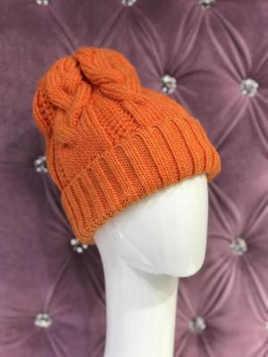 Dámska čiapka Kory oranžová