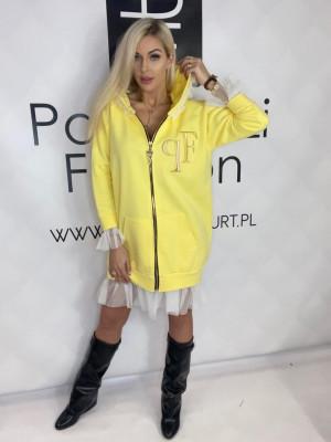 Tričko (tunika) Paparazzi Tyl žlta