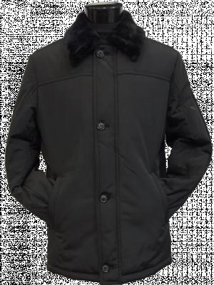 Čierna bunda Benetto