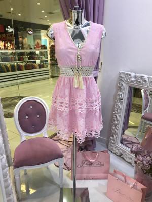 Šaty NATHALI ružová