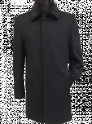 Čierny kabát Donatella