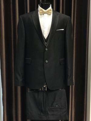 Čierny pánsky oblek Fabio Bossi MODEL 3698 AD 285 COLOR 13