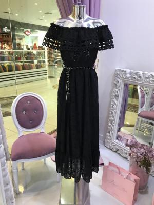 Šaty MADEIRA čierna
