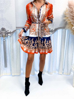 Šaty LUONGO orange