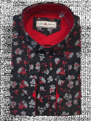 Pánska vzorovaná košeľa Leonard