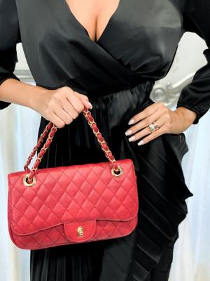 Červená kabelka Amanda