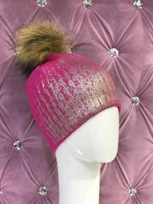 Zimná čiapka Keren ružová