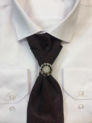Francúzka kravata Elegance Burgundy