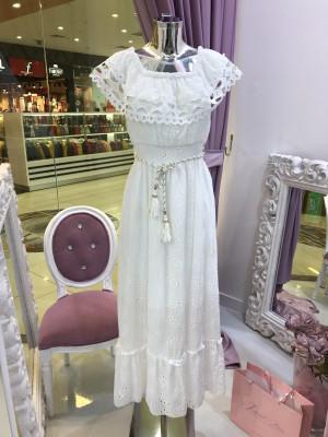 Šaty MADEIRA biela