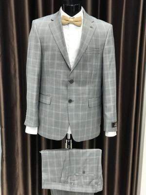 Bledo-sivý pánsky oblek AntoniZanetti MODEL 5139 AD 306 COLOR 05