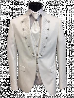 Biely pánsky oblek Manolo