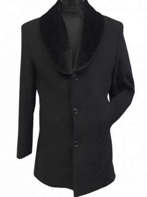 Čierny kabát Anzi