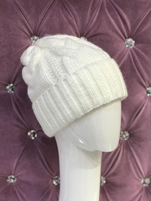 Dámska čiapka Kory biela