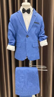 Detský modrý oblek Brumik 3463
