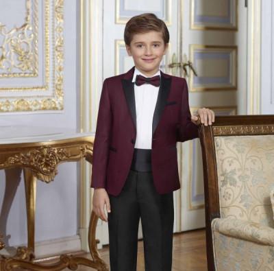 Detský oblek Baggi bordový